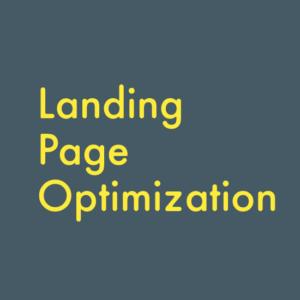 بهینه سازی صفحه فرود ( landing page )